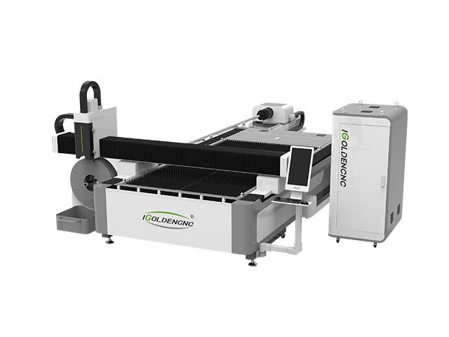 Machine de découpe laser à fibre à double usure IGR-FT