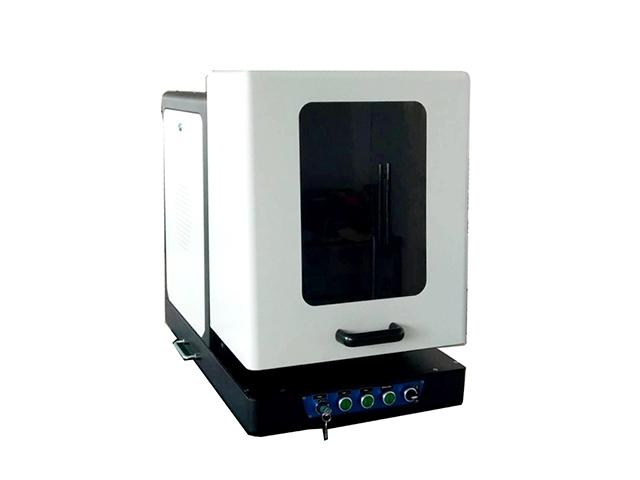 Machine de marquage laser à fibre fermé