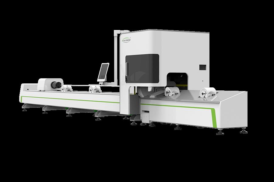 Metallrohrfaserlaser-Schneidemaschine IGR-T
